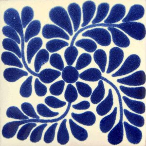 Espiral Mexican Ceramic Tile