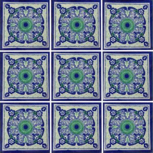 Talaverado Mexican Ceramic Tile