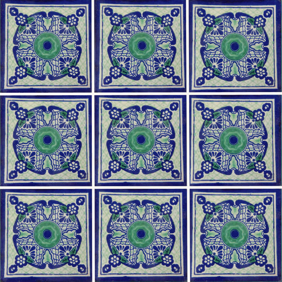 Talaverado Mexican Ceramic Tile